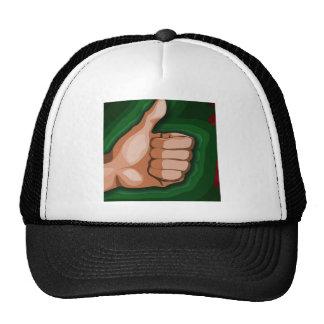 Thumbs up Hand Funny Photo Custom Graphic Design Trucker Hat
