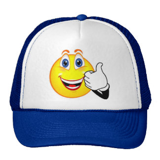 Thumbs up hat