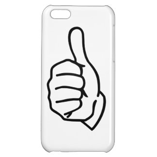 Thumbs up iPhone 5C cases