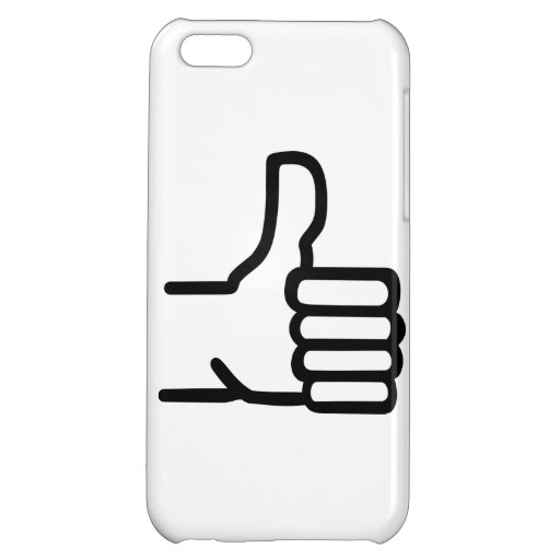 Thumbs up cover for iPhone 5C