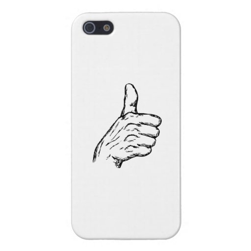 Thumbs Up iPhone 5/5S Cover
