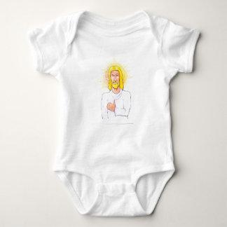 Thumbs up Jesus Baby Bodysuit