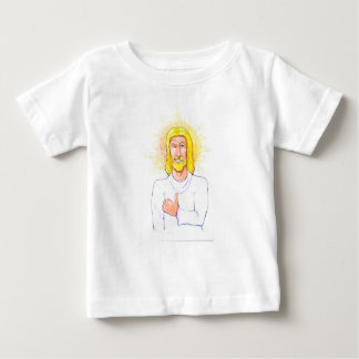 Thumbs up Jesus Baby T-Shirt