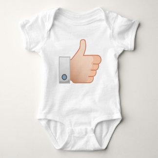 Thumbs Up Like Baby Bodysuit