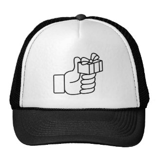 Thumbs Up Like Gift Icon Trucker Hat