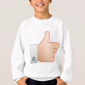 Thumbs Up Like Sweatshirt