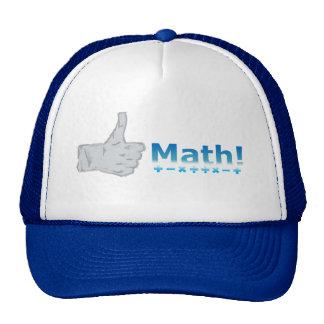 Thumbs Up Math! Trucker Hat