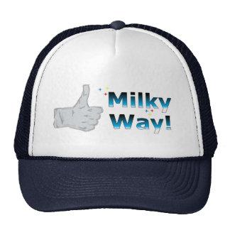 Thumbs Up Milky Way Trucker Hat
