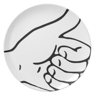 Thumbs Up Plate