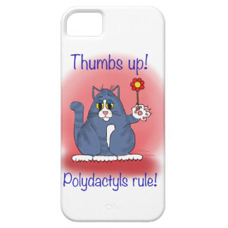 Thumbs Up! Polydactyls Rule! iPhone 5 Case