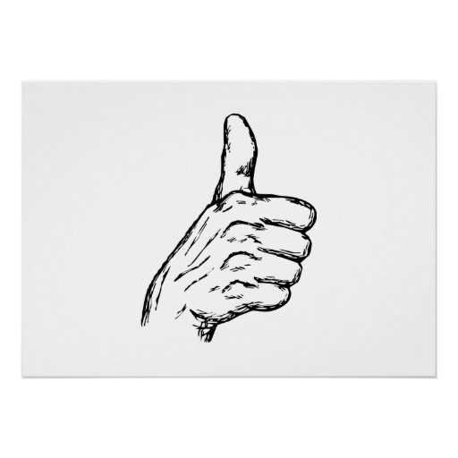 Thumbs Up Print