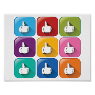 Thumbs Up Poster