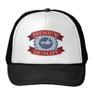 Thumbs up premium quality shield mesh hats