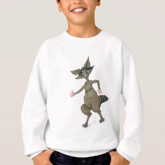 Thumbs Up Raccoon Sweatshirt