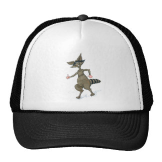 Thumbs Up Raccoon Trucker Hat