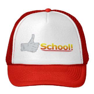 Thumbs Up School. Trucker Hat