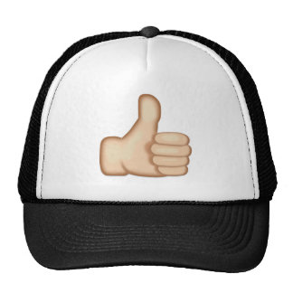 Thumbs Up Sign Emoji Trucker Hats