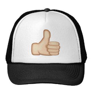 Thumbs Up Sign Emoji Trucker Hat