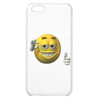 Thumbs Up Smiley Face character iPhone 5C Cover