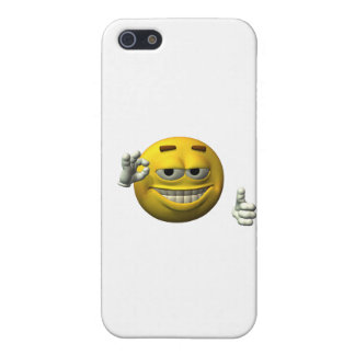 Thumbs Up Smiley Face character iPhone 5 Case