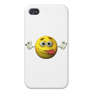 Thumbs Up Smiley Face character Cases For iPhone 4