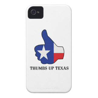 Thumbs Up Texas iPhone 4 Case