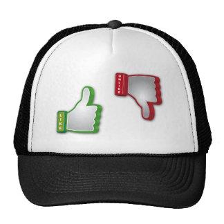 Thumbs  Up Thumbs Down Trucker Hat