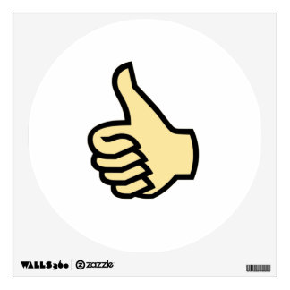 Thumbs Up Wall Sticker