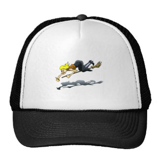 thumbs up witch trucker hat