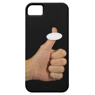 Thumbs Up with sticker iPhone 5 Case