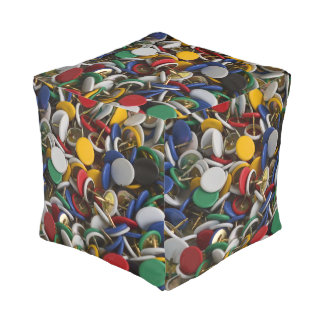 Thumbtacks Pouf