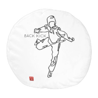 THUMP TAEKWONDO DWICHAGI back kick 02 Pouf