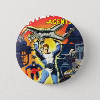 Thunder Agents 2 Inch Round Button