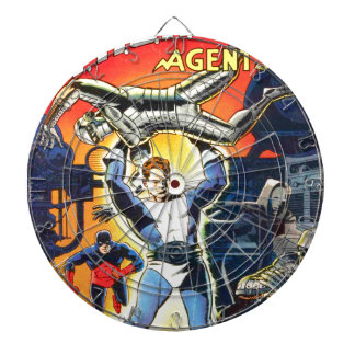 Thunder Agents Dartboard