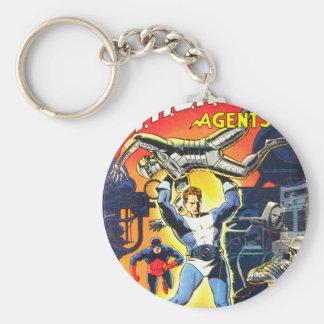 Thunder Agents Keychain