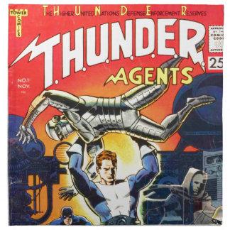 Thunder Agents Napkin