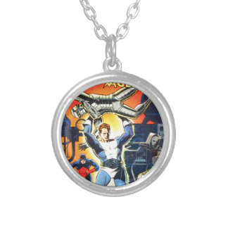 Thunder Agents Silver Plated Necklace