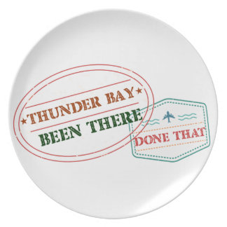 Thunder Bay Been there done that Plate
