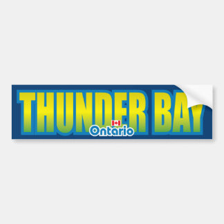 Thunder Bay Bumper Bumper Sticker
