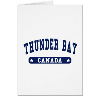 Thunder Bay Card