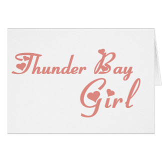 Thunder Bay Girl Card