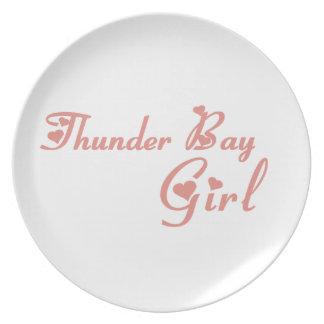 Thunder Bay Girl Plate