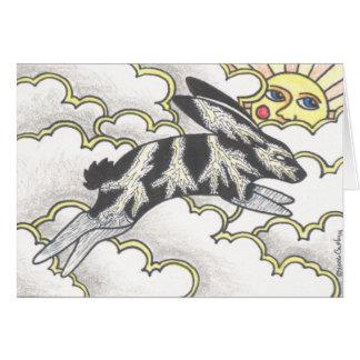 """""""Thunder Bunny"""" Card"""