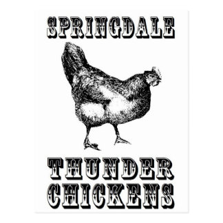 Thunder Chickens Postcard