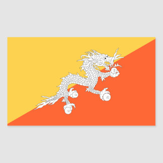 Thunder Dragon National Flag of Bhutan Sticker