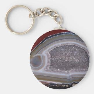 Thunder Egg Basic Round Button Keychain