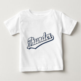 Thunder in White, Gray and Blue Baby T-Shirt