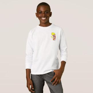 Thunder Knight HEROIC Kid's Long Sleeve T-Shirt