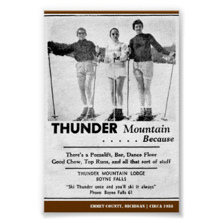 Thunder Mountain 1958 Poster