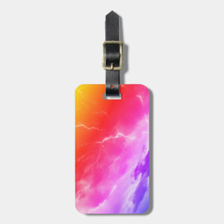 Thunder of dawn luggage tag